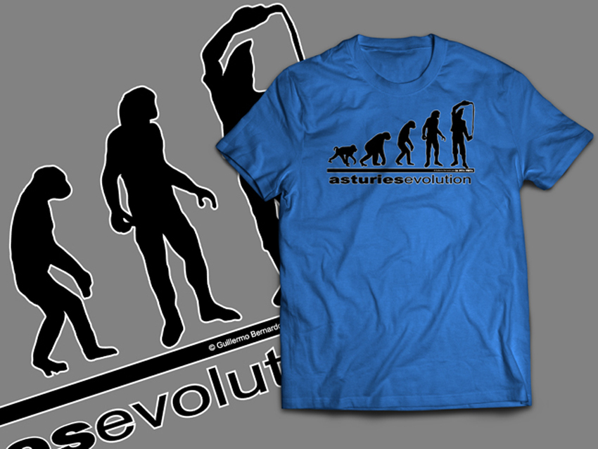 CAMISETA ADULTO ASTURIES EVOLUTION